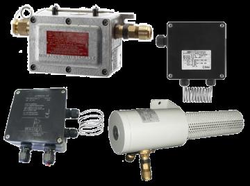 Взрывозащищённые промышленные термостаты EJB D-8525 / EJB D-8640 / THERM-AT / ATH-EXx-2