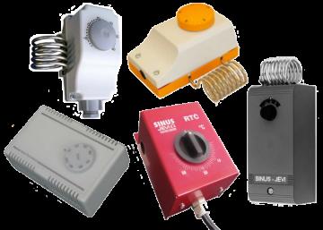 Электромеханические комнатные термостаты