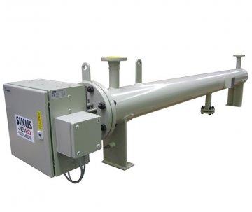 Нагреватель топливного газа 75 кВт для взрывоопасных зон
