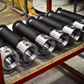 Заготовки корпусов взрывозащищённых нагревателей ERB RVS