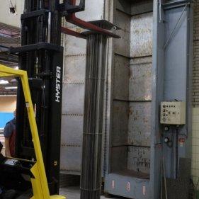 Установка нагревательной связки в испытательную камеру