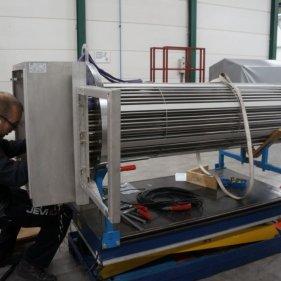 Монтаж проводки в коробке подключения нагревателя серии D-8800