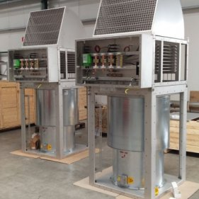 Тормозные резисторы с воздушным охлаждением 160-230 кВт / 3x810 В