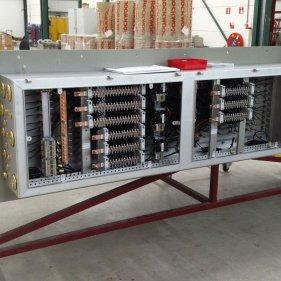 Коробка подключения канального нагревателя 475 кВт. Произведено для оператора морских платформ.